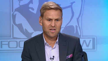 Kane Cornes has taken pot shots at Patrick Dangerfield and other AFL players and coaches since joining the media.