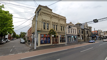 The Collingwood Backpackers building, which has now been sold.