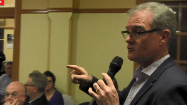 """Labor leader Michael Daley says on a video that a 'transformation' is underway and foreigners are """"moving in and taking the jobs"""" of young Sydneysiders."""