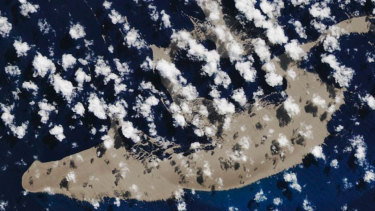 An eruption from an undersea volcano lofted a raft of pumice to the surface.