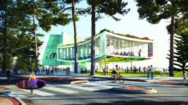 """The design concepts have been labelled """"brave"""" by Cottesloe's acting Mayor."""