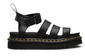 Dr. Martens chunky vegan sandal 'blaire' is the 'it' shoe of summer.