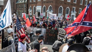 The Unite the Right rally in Charlottesville descended into violence.