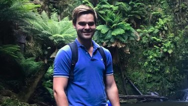 Queensland vet Lukas Orda.