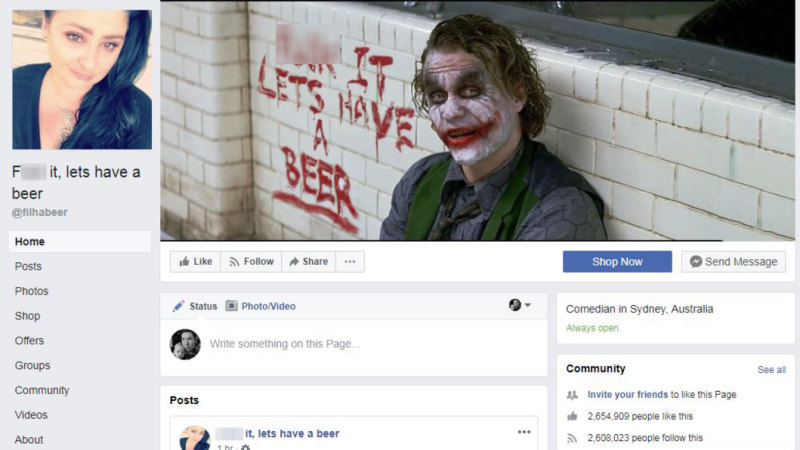 Facebook page with 2 6m likes taken down without warning