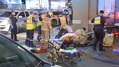 Man charged over truck crash 'unaware' of five injured pedestrians