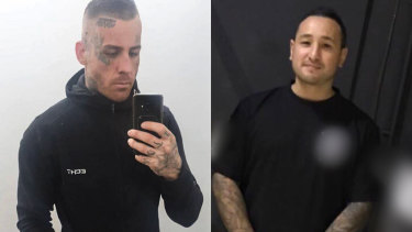 Josh Rider (left) and Aaron Ong (right) who have been charged with murder.