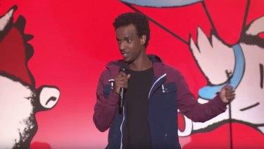 Comedian Izzy Ali.