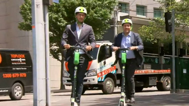 Lime scooters have operated in Brisbane since November.