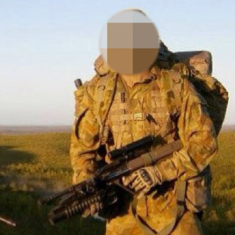 Neighours said the man had previously been to Afghanistan.