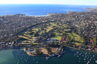 Royal Sydney Golf Club.