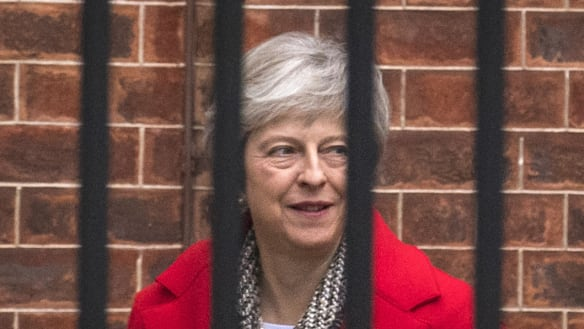 Theresa May reshuffles as leadership letter circulates over Brexit