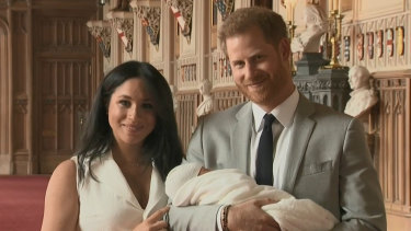 Meghan and Harry introduced the world to the newest royal - Archie Harrison Mountbatten Windsor in May.