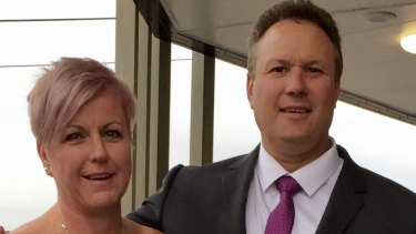 One Nation MP for Mirani Steve Andrew with wife Donna.