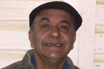 Chris Savva, 63, died during last week's bushfire emergency near Nambucca Heads in NSW. The coroner is examining the cause of his death.
