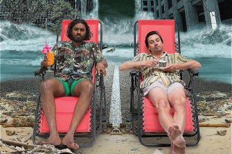 Amesh Edireweera and Richard Pyros have put Raimondo Cortese's play Holiday on film for Fringe.