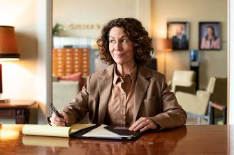 Kitty Flanagan co-writes, co-directs and stars in Fisk.