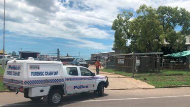 A man has died after a workplace incident in Townsville.