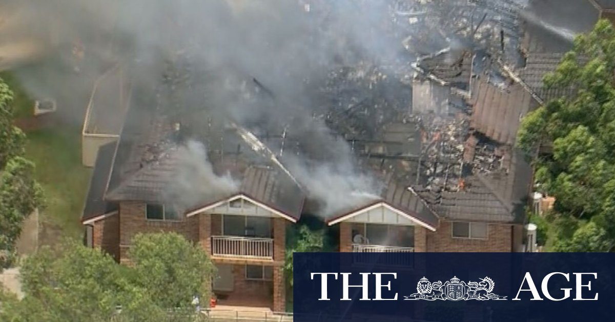 Bass Hill fire: Two missing, manly left homeless after fire collapses roof in Sydney's south west