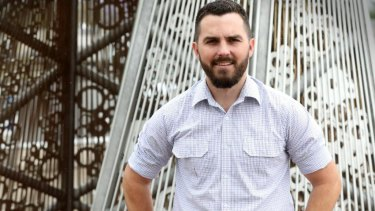 West End senior constable Nathaniel Jones will run for the Liberal National Party against Cr Jonathan Sri at the March 2020 council elections.