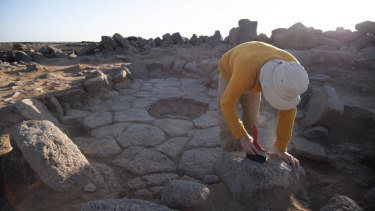 Excavations of the oldest discovered bread, which might have resembled a pita, were made at a site in Jordan.