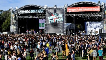 There are doubts pill testing will go ahead at Groovin The Moo at the University of Canberra on April 29.
