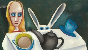 Work by Charles Blackman.