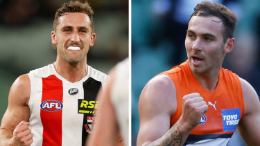 Luke Dunstan and Jeremy Finlayson have joined Melbourne and Port Adelaide respectively.