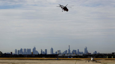 Essendon Airport is home to Victoria's emergency services air wings.