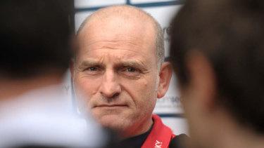 Former Melbourne coach Dean Bailey.
