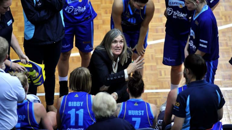 Carrie Graf led the Canberra Capitals to six WNBL titles.