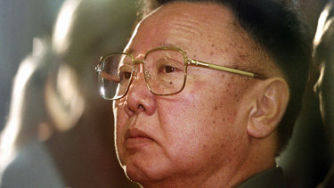 North Korea's former leader Kim Jong-il.