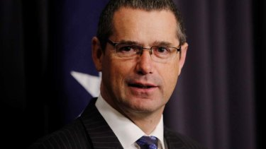 Former ALP senator Stephen Conroy heads up a lobby group for Australian online betting companies.