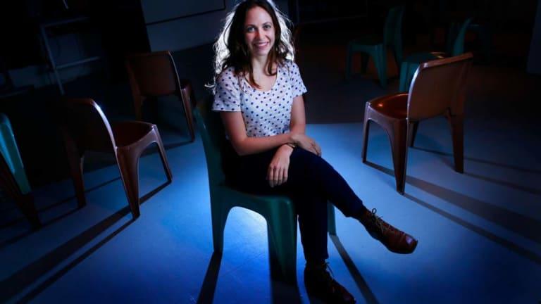 Inspired: Performance artist Nicola Gunn.