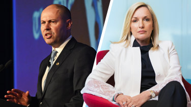Treasurer Josh Frydenberg says if he was a chief executive of a company he would hire ousted Australia Post boss Christine Holgate.