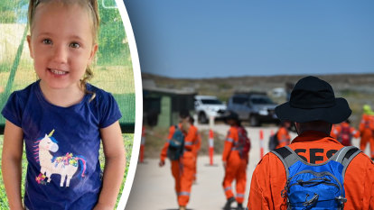 Close-knit community reels as search widens for young girl missing in WA's north