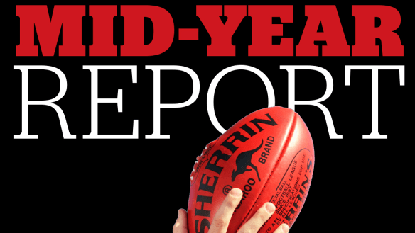 AFL mid-season report cards