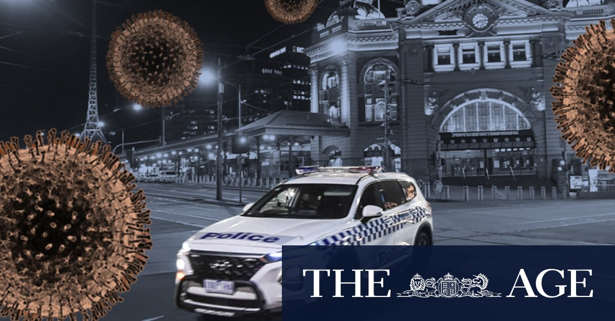 Victoria is in a state of disaster. What does that mean and what are the rules now? – The Age