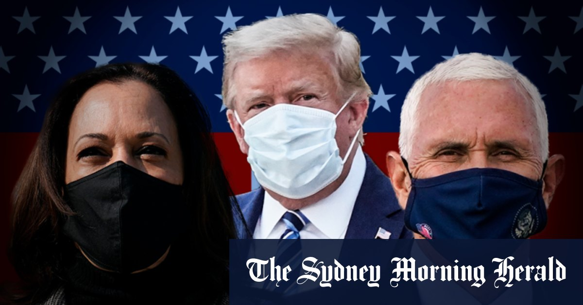 Trump's diagnosis pushes VP candidates apart but debate on track – Sydney Morning Herald