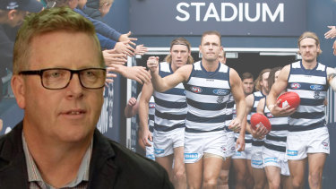 Steve Hocking has returned as CEO to the club at which he played 199 senior games.