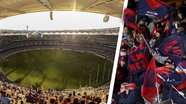 A record number of people vied for 10,250 on sale tickets to next Saturday's AFL grand final at Optus Stadium.