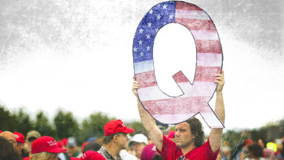 Please Explain podcast: QAnon, the far-right group that's infiltrated Australia's wellness community