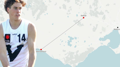 Driven Ballantyne's long road to the cusp of the AFL