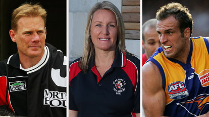 First woman joins Australian Football Hall Of Fame and Judd added in first eligible year