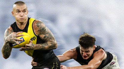 Don't argue: Why Dustin Martin can't be tackled