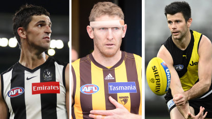 Captaincy capers: The AFL clubs where there could be leadership change