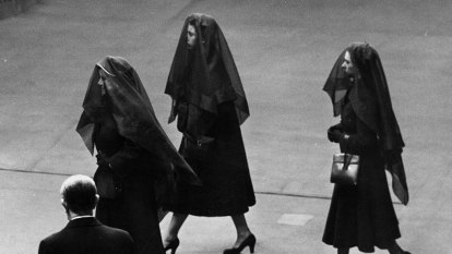 The fascinating history of royal family mourning dress codes
