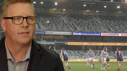 'There is nothing like unearthing young talent': Geelong boss Steve Hocking