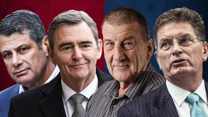 'Kick a Vic' mentality gets short shrift from ex-premiers