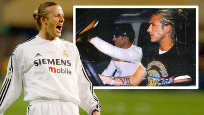 Aussie's roller-coaster stint as Beckham's 'agent, manager and bodyguard'